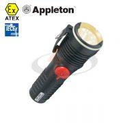 چراغ قوه ضد انفجار appleton